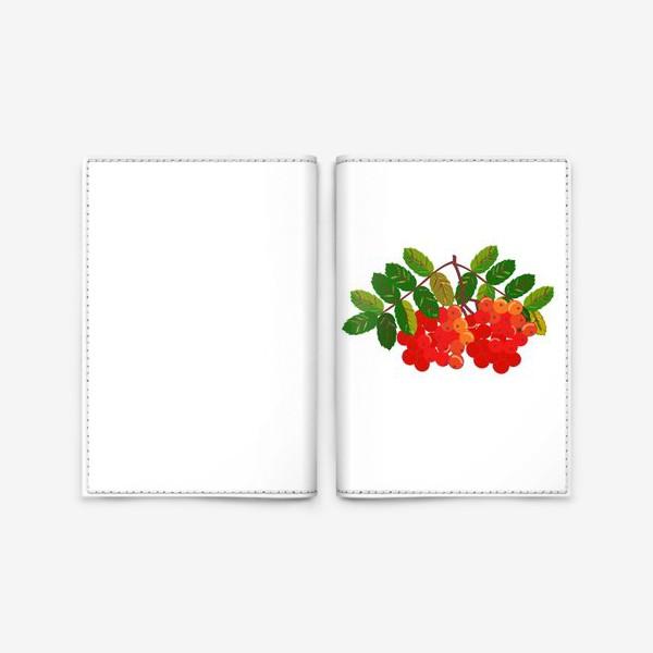Обложка для паспорта «Рябина»