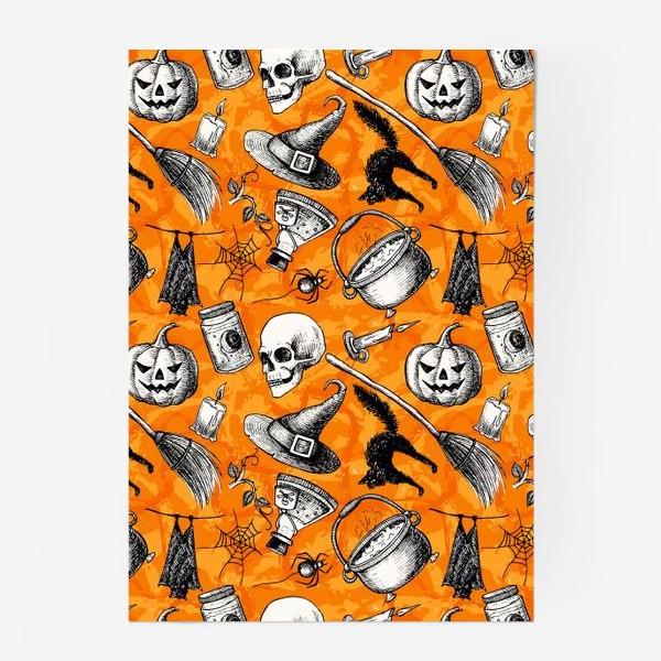 Постер «Винтажный Хэллоуин»