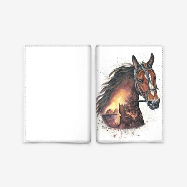 Обложка для паспорта «Рассвет»