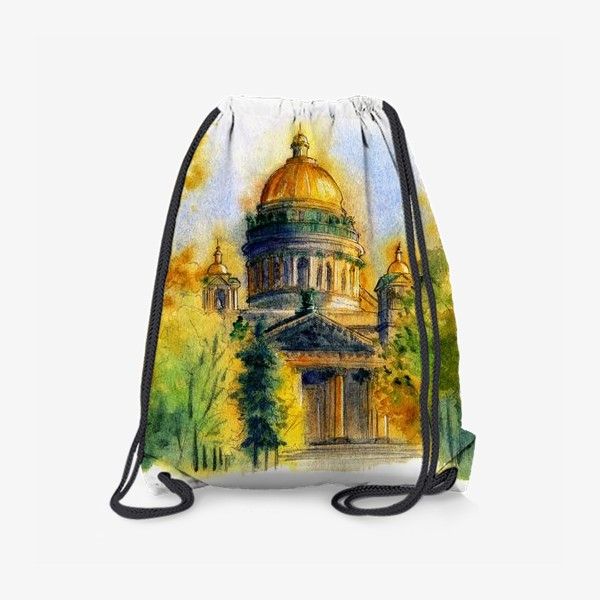 Рюкзак «Осенний Исаакиевский собор, Санкт-Петербург»