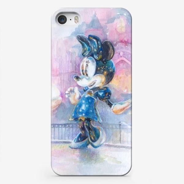 Чехол iPhone «Диснейленд ,Микки и Мини»