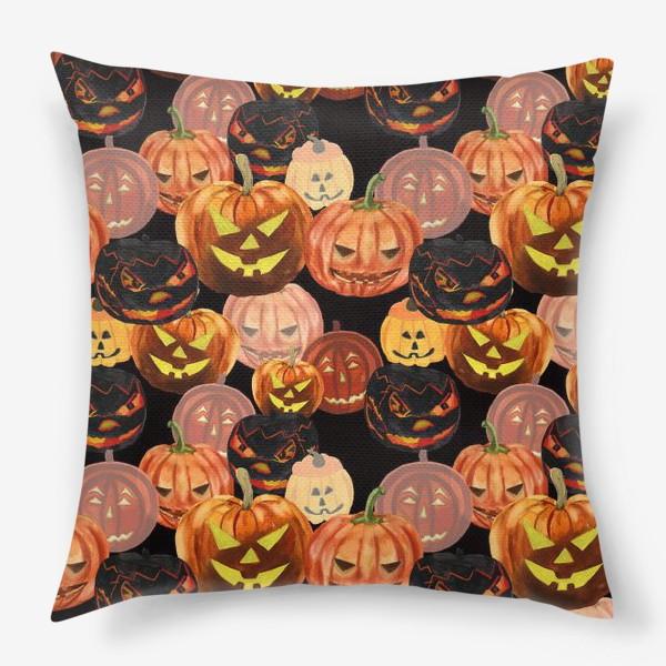 Подушка «Темный Хеллоуин»