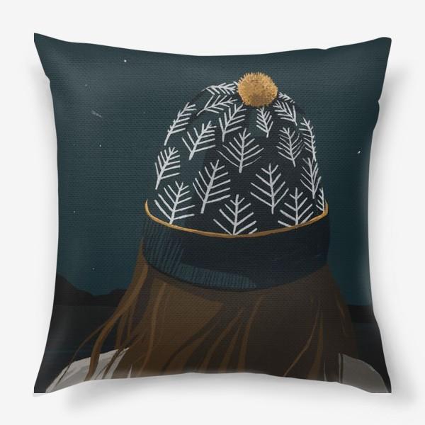 Подушка «Жажда путешествий»