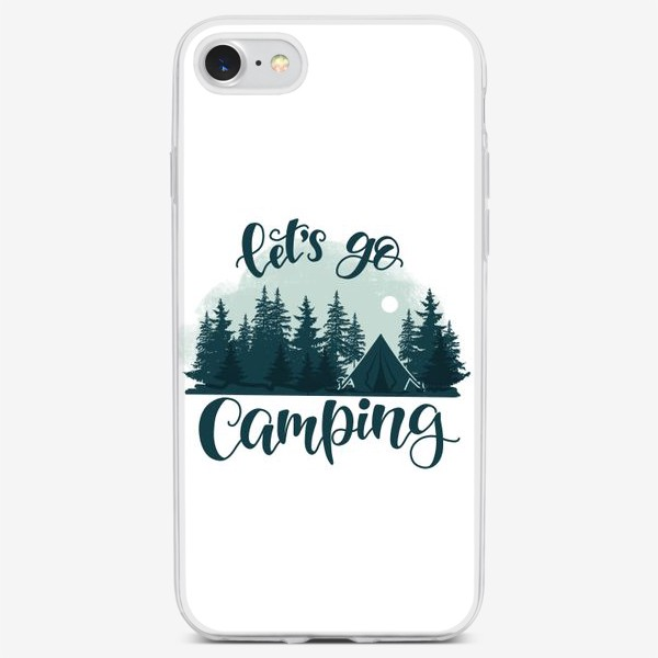 Чехол iPhone «Let's go Camping»
