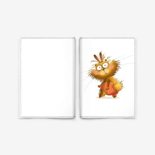 Обложка для паспорта «Харизматичный кролик»