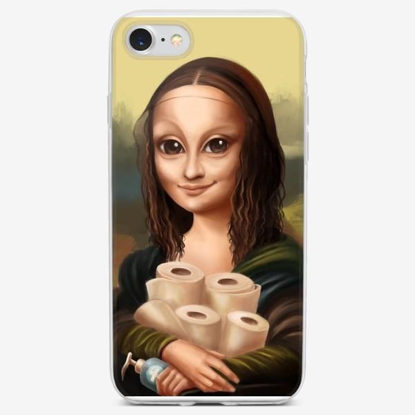 Чехол iPhone «Мона Лиза 2020»