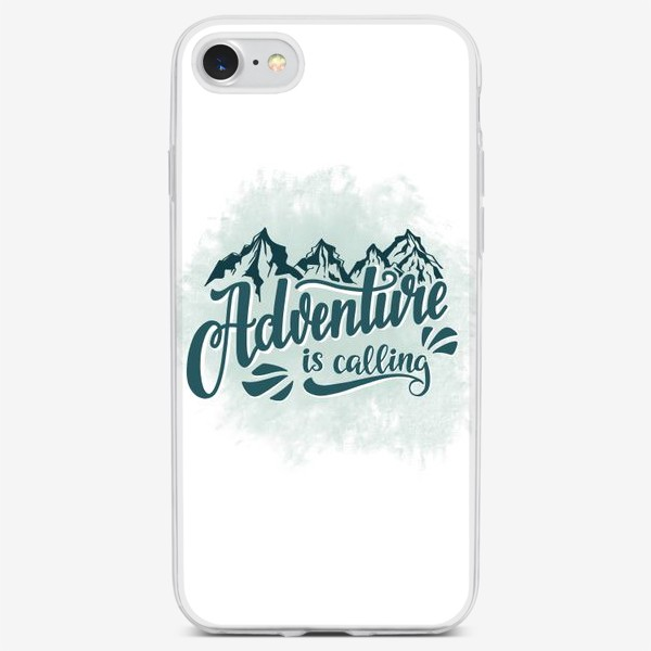 Чехол iPhone «Adventure is calling»