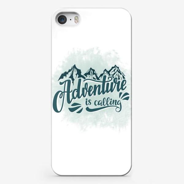 Чехол iPhone «Adventure is calling»