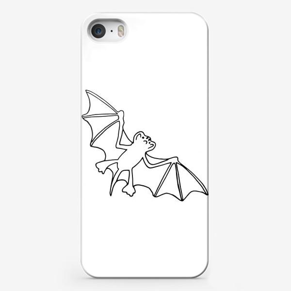 Чехол iPhone «летучая мышь. хэллоуин декор»