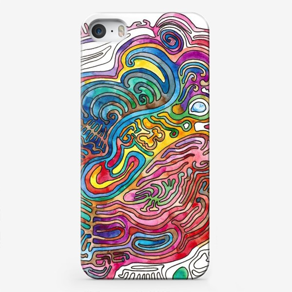 Чехол iPhone «Watercolor Doodle»