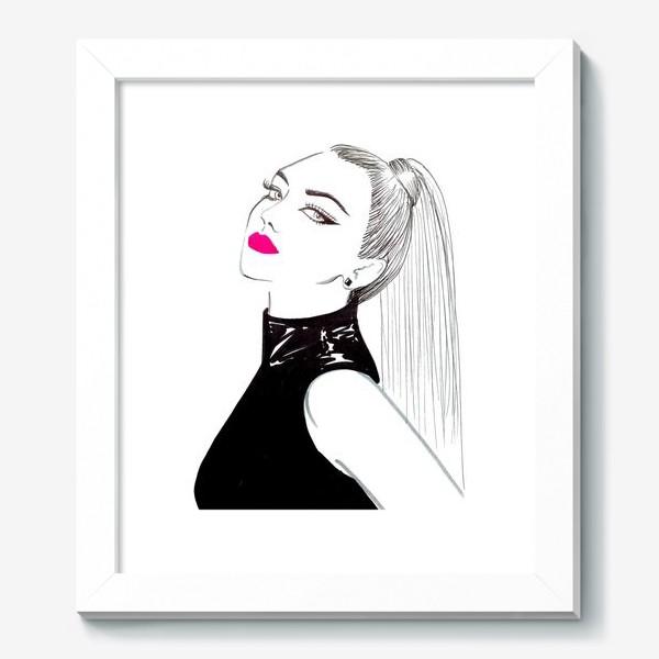 Картина «Pink lips»