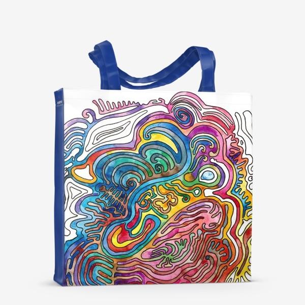 Сумка-шоппер «Watercolor Doodle»