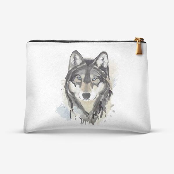 Косметичка «волк»