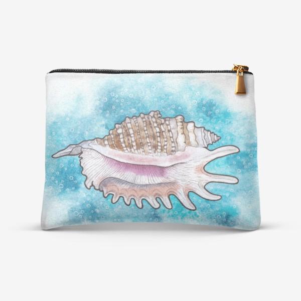 Косметичка «Морская ракушка»