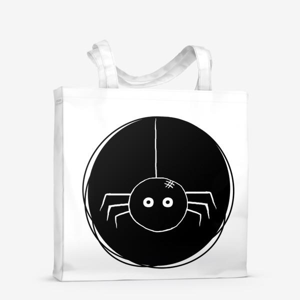 Сумка-шоппер «Маленький паук. Хэллоуин»