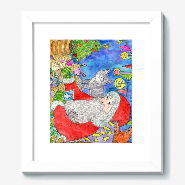 Картина «Письмо от Деда Мороза»