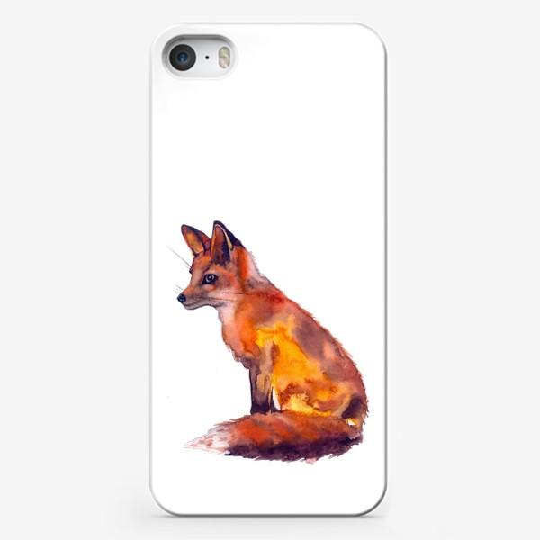 Чехол iPhone «Лиса рыжая»