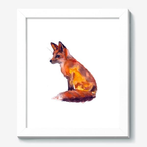 Картина «Лиса рыжая»