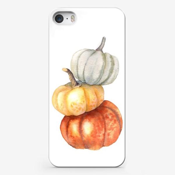 Чехол iPhone «Три тыквы»