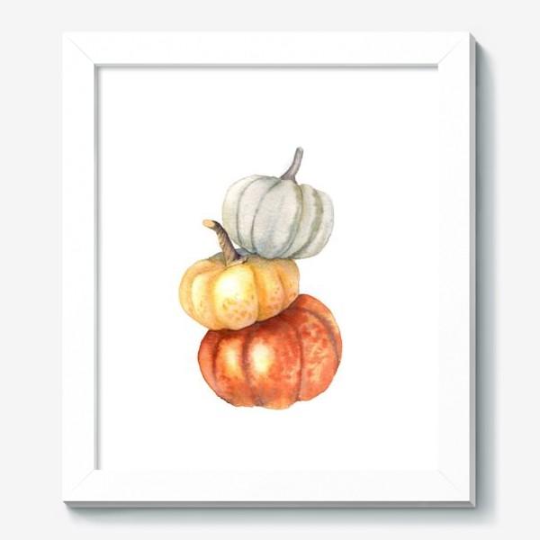 Картина «Три тыквы»