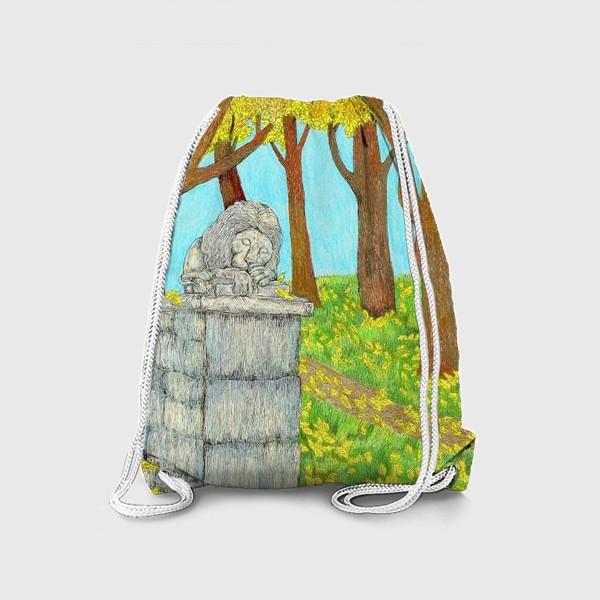 Рюкзак «Осенний пейзаж в парке»