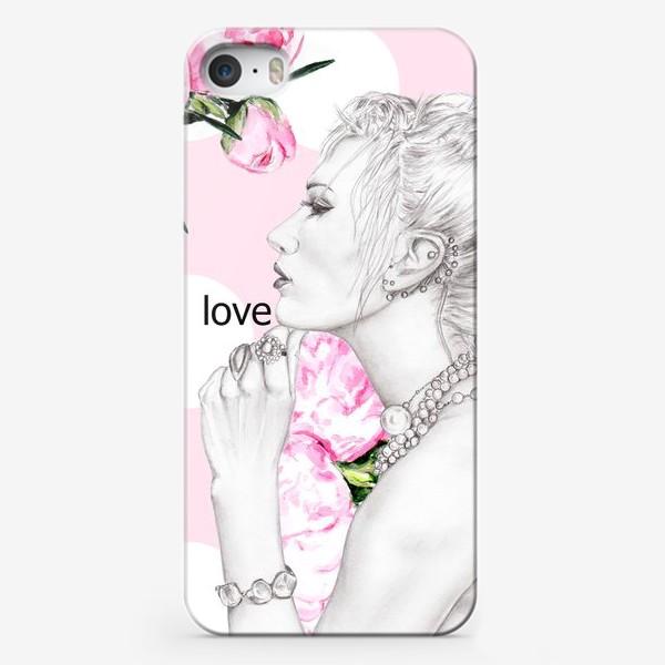Чехол iPhone «Девушка с жемчугом»