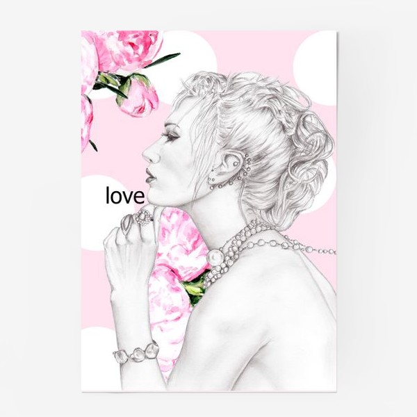 Постер «Девушка с жемчугом»
