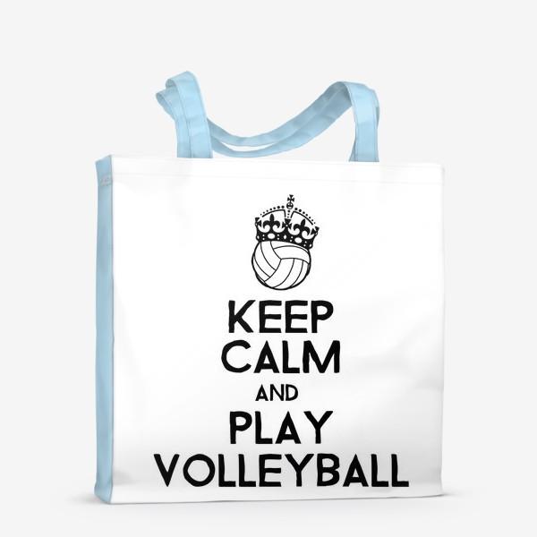 Сумка-шоппер «Волейбол. Подарок тренеру, учителю.»
