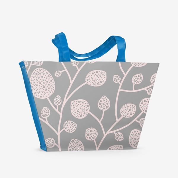Пляжная сумка «Сказочные ветви »