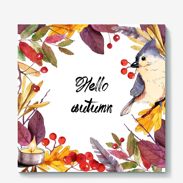Холст «Привет Осень»