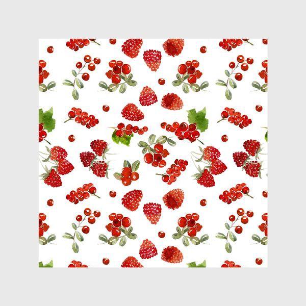 Шторы «Ягоды малины, брусники, красной смородины»