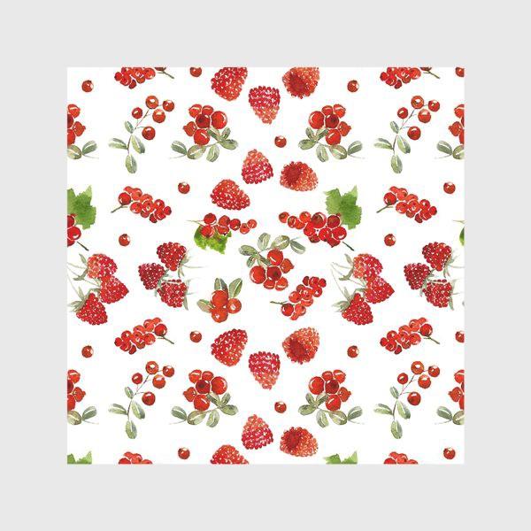 Скатерть «Ягоды малины, брусники, красной смородины»