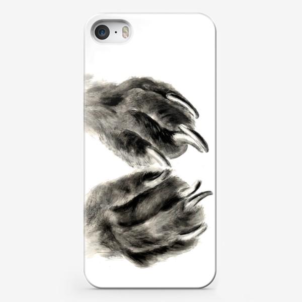 Чехол iPhone «Лапы с когтями кошка или собака»
