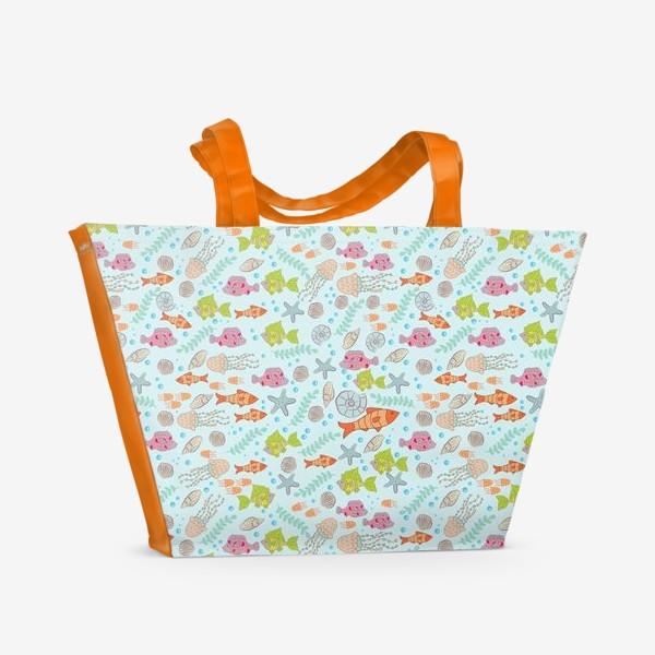 Пляжная сумка «Фантастическое море»