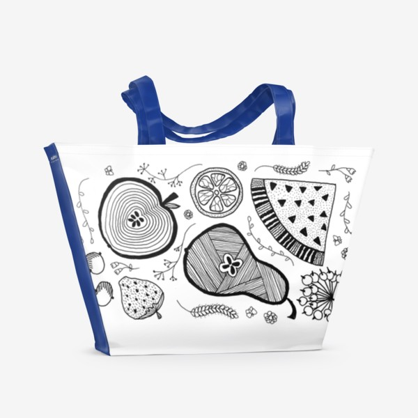 Пляжная сумка «фруктовый салат»