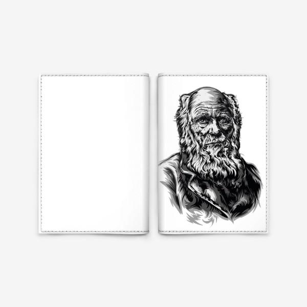 Обложка для паспорта «Дарвин»