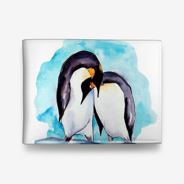 Кошелек «Влюбленные пингвины»