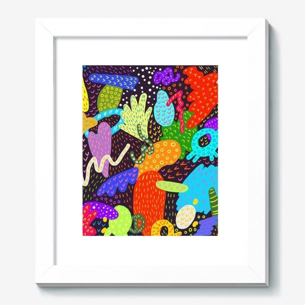 Картина «Яркая абстракция»