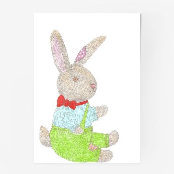 Постер «Плюшевый кролик»