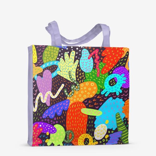 Сумка-шоппер «Яркая абстракция»