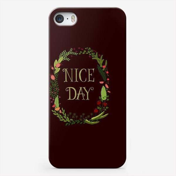 Чехол iPhone «Хороший день_1»