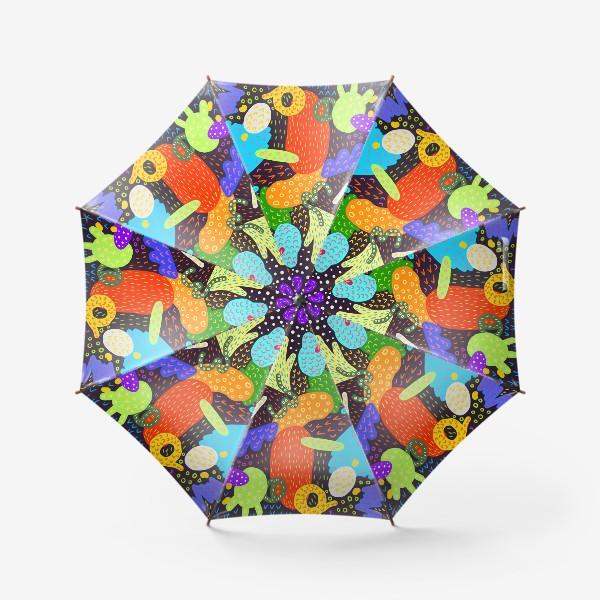Зонт «Яркая абстракция»