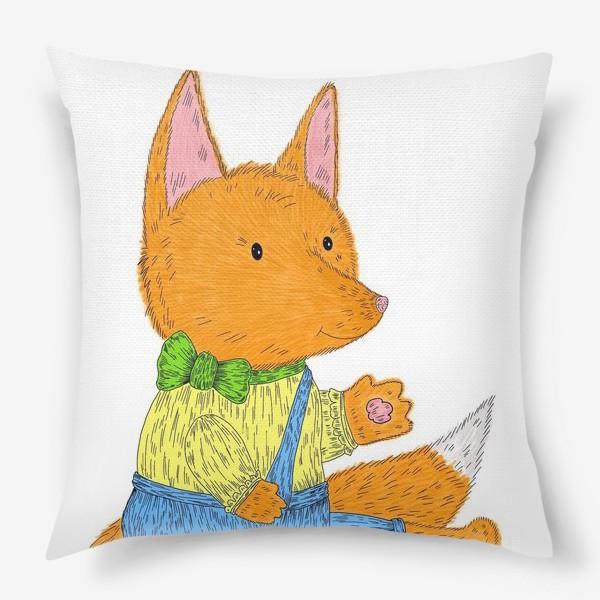 Подушка «Милый лисенок»
