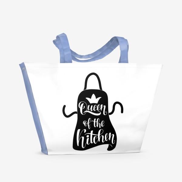 Пляжная сумка «queen of the kitchen»