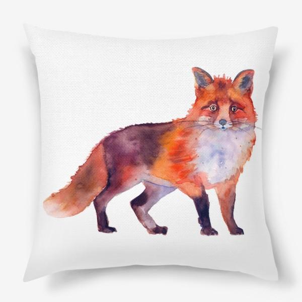 Подушка «рыжая лиса»