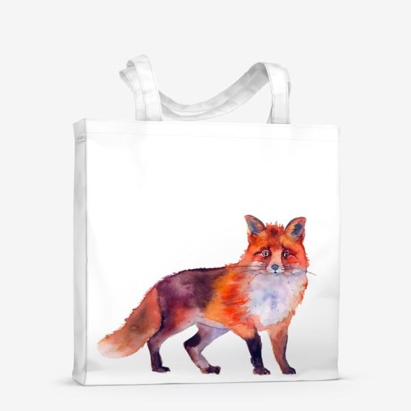 Сумка-шоппер «рыжая лиса»