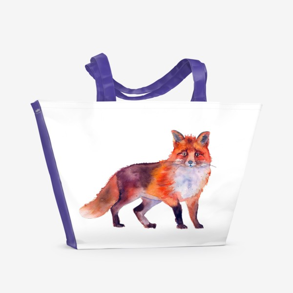 Пляжная сумка «рыжая лиса»