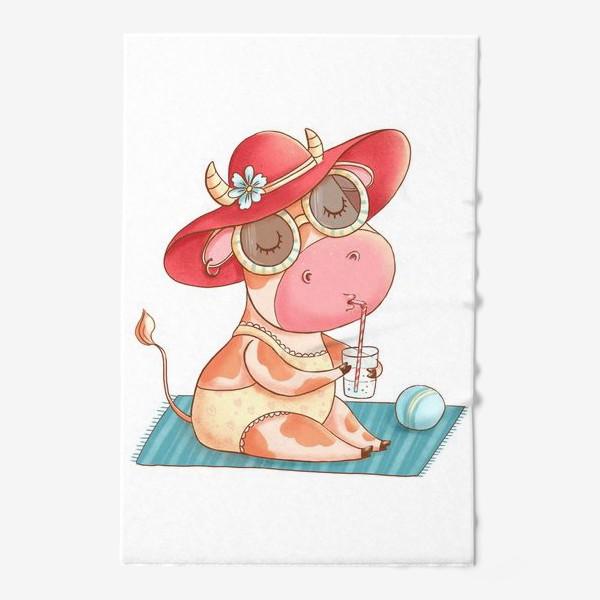 Полотенце «Летняя коровка»