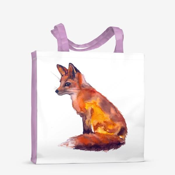 Сумка-шоппер «Лиса рыжая»