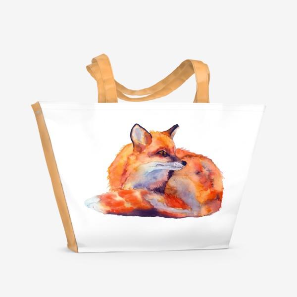 Пляжная сумка «лиса»